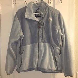 The North Face Jacket - Size L - Baby Blue